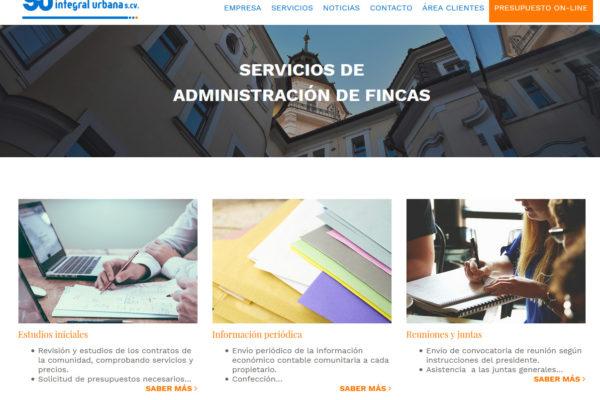 Gestión Integral Urbana Diseño web