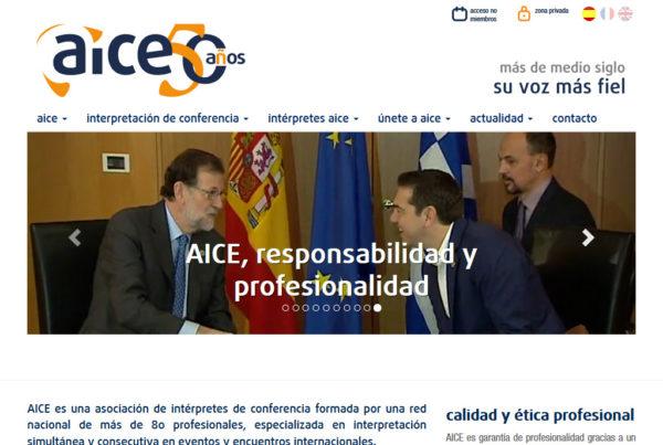 AICE Diseño web