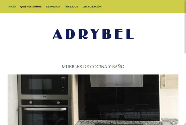 Diseño web Adrybel