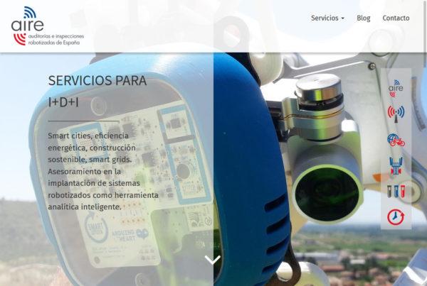 AIRESP Diseño web
