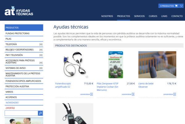 Ayudas Técnicas Diseño web