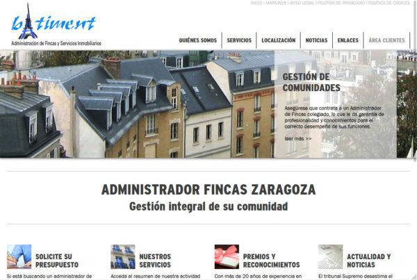 Batiment Diseño web