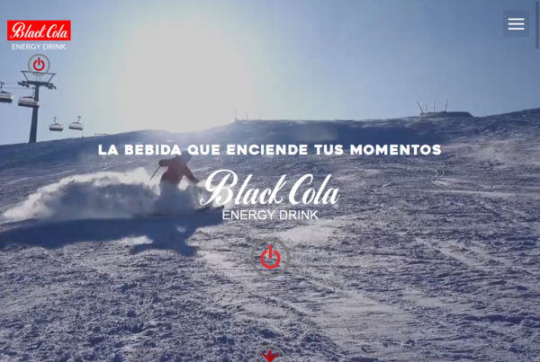 Black Cola Diseño web