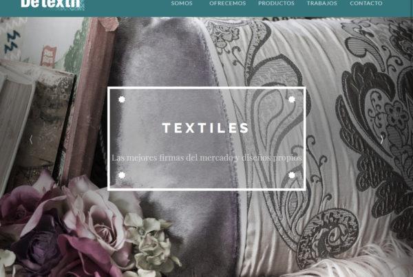 Diseño web Detextil