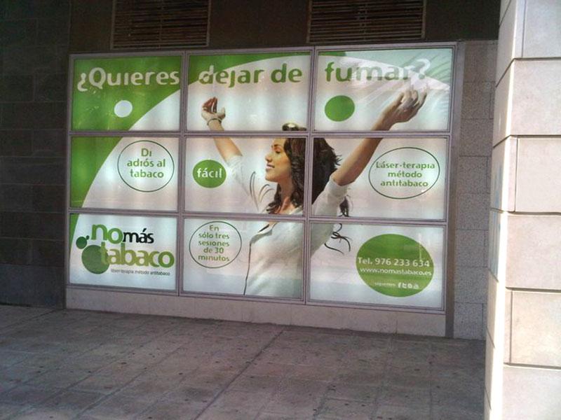 Rótulos No más tabaco