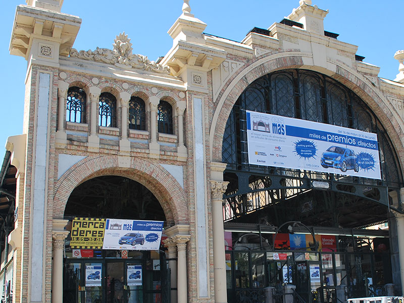 Lona Mercado Central es más
