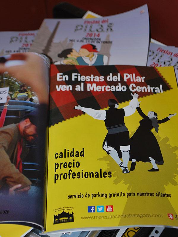 Anuncio Fiestas Pilar Mercado Central
