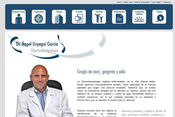 Dr Urpegui Diseño web