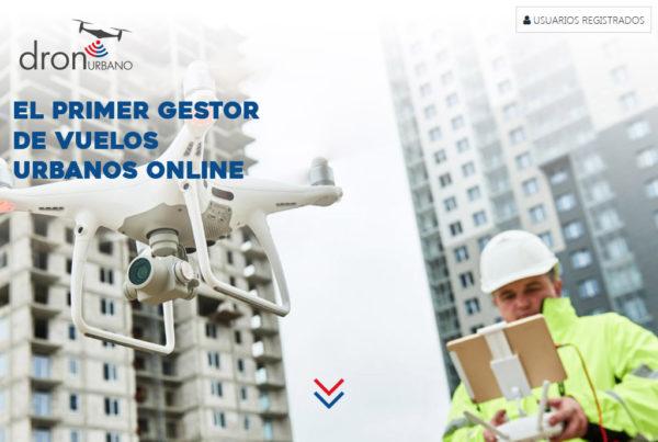 Dron Urbano Diseño web