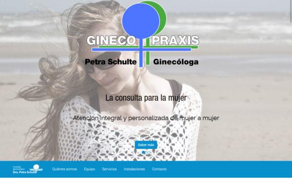 Gineco Praxis Diseño web