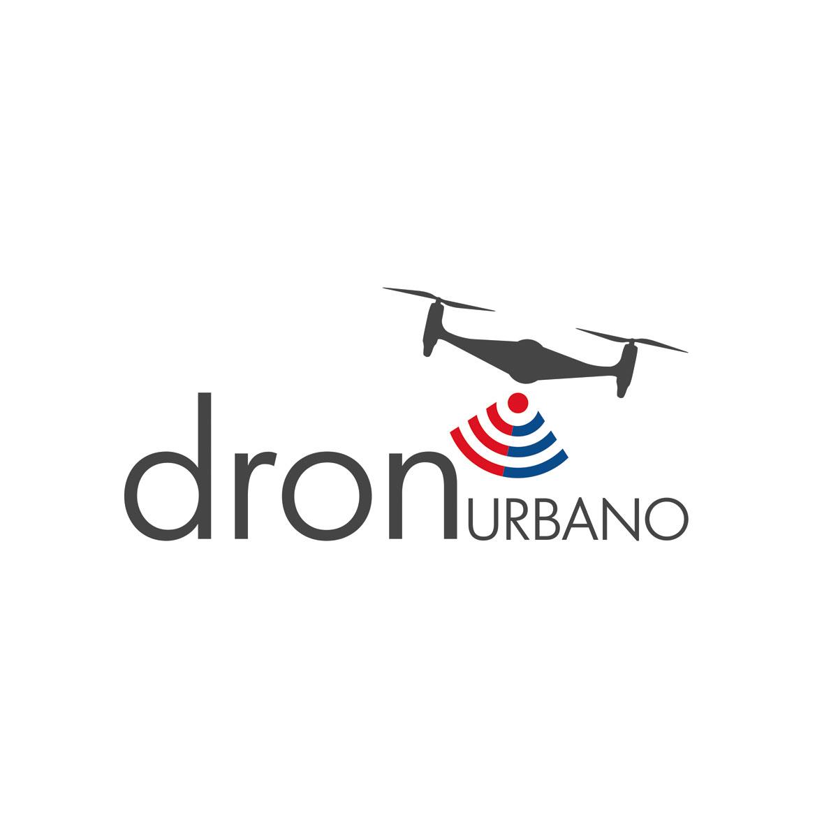 Logotipo Dron Urbano