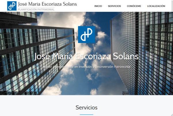 Planificación patrimonial diseño web
