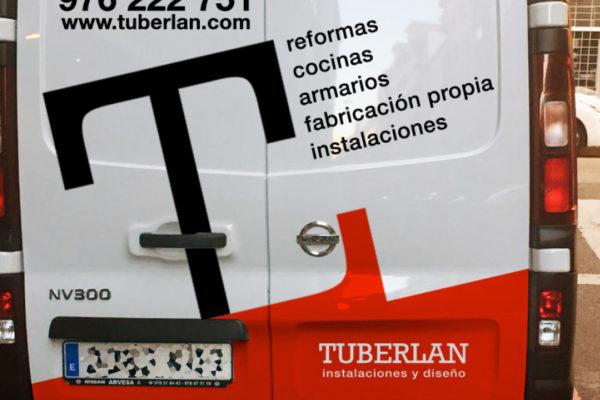 Rotulación vehículos - diseño gráfico
