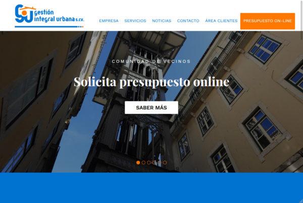 Diseño web Administrador de fincas