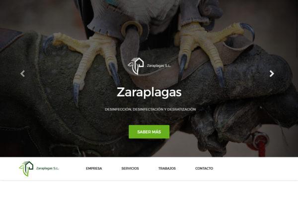 Zaraplagas Diseño web
