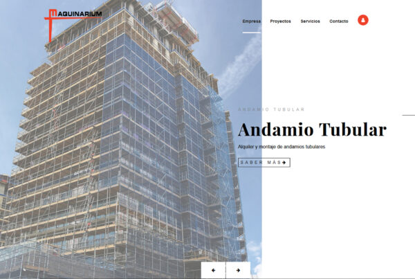 Diseño web Maquinarium